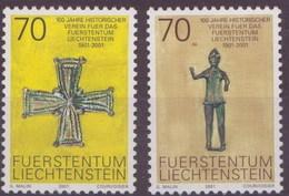 Liechtenstein 1207/1208 ** MNH. 2001 - Liechtenstein