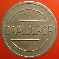 KB100-1 - DAALDEROP - Tiel - WM 22.5mm - Koffie Machine Penning - Coffee Machine Token - Firma's