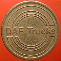 KB101-1 - DAF TRUCKS - Eindhoven - B 22.0mm - Koffie Machine Penning - Coffee Machine Token - Firma's