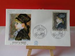 Auguste Renoir - Paris - 9.11.1968 FDC 1er Jour N°658 - Coté 3€ - 1960-1969