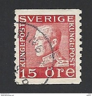 Schweden, 1934, Michel-Nr. 179 II, A, Gestempelt - Svezia