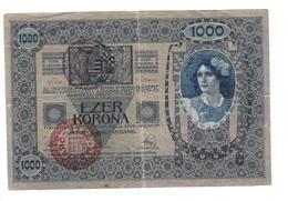 "Hongrie Hungary Ungarn 1000 Kronen / Korona 1902 "" Pest-Pilis-Solt-Kiskun Varmegye "" & MAGYARORSZAG - Double Ovp - Hongrie"