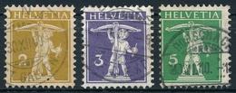 117-119 / 111I-113I - Serie - Sauber Gestemepelt - Usados
