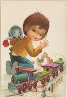 Enfant :  Peralta ? Illustrateur  , Jouet , Train , Souris - Niños