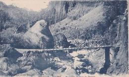 C.P. REUNION.-CILAOS Passerelle Du Bras Du Benjoin - La Réunion