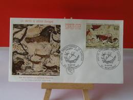 Grottes De Lascaux - 24 Montignac - 13.4.1968 FDC 1er Jour - Coté 25€ - 1960-1969