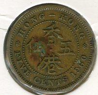 Hong Kong 5 Cents 1960 KM 29.1 - Hong Kong