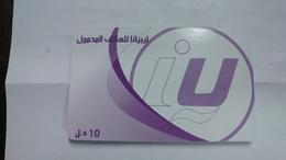 Libya-prepiad Card-(3)-(10units)-(9963066442499)-used Card+1card Prepiad Free - Libya