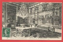"""C.P.A. ( 77 ) """" PALAIS De FONTAINEBLEAU  """" Salon De Récèption Des Reines Mères  -X 2 Photos - Fontainebleau"""