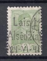 LITAUEN Lithuania 1941 German Occupation Alsedžiai Michel 1 O Not Expertized! - Occupation 1938-45