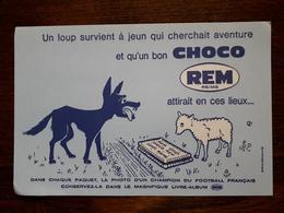 L18/65 Buvard. Choco Rem. Reims. - Sucreries & Gâteaux