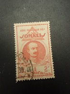 Timbre Côte Française Des Somalis 2 F 1939 Gouverneur L.Laguarde. - French Somali Coast (1894-1967)
