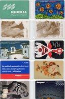Impulz 50 Imp. Phonecard - LOT OF 10 PHONECARDS - Slovenia