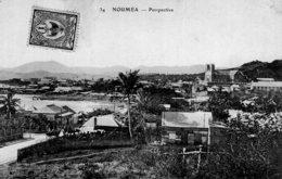 S1180 Cpa  Nouvelle Calédonie - Nouméa - Perspective - Nouvelle Calédonie