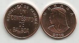 Panama 1 Centesimo 2018. High Grade - Panama