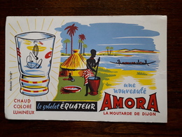 L18/66 Buvard. Moutarde Amora De Dijon - Mostard