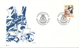 Denmark FDC 16-2-1989 Salvation Army With Cachet - FDC