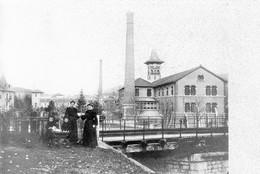 Carte-photo De PONTARLIER - Le Pont De La Scierie Vandel. Circulée Le 14-04-1905. Bon état. - Pontarlier