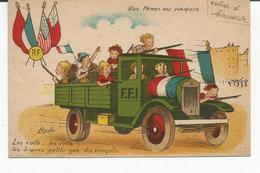 CP Nos Héros Du Maquis, Illustré Par Capielle - Les Voilà ...les Braves Petits Gas Du Maquis - Cappiello