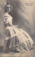 Spectacle  MAGGIE TEYTE (robe Chapeau)   ( Artiste  Opéra Comique)(   Edition  Photo Bert  N°105 ) *PRIX FIXE - Artistes