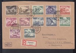 Dt. Reich R-Brief 1943 Eisenach - Germany