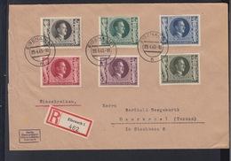 Dt. Reich R-Brief 1943 Eisenach (2) - Alemania