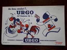 L18/67 Buvard. Pansement Urgo - Produits Pharmaceutiques