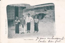 Indo-chine Laos Indigènes éditeur Claude Et Cie - Laos