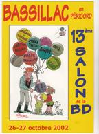 GODARD Christian  - 13ème Salon Bande Dessinée Bassillac Ballon Gonflable  -  CPM  10,5x15  TBE 2002 Neuve - Otros Ilustradores