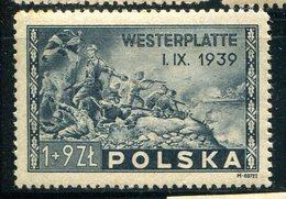 POLOGNE - Y&T 454* (20% De La Cote) - 1944-.... República