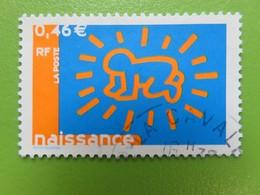 Timbre France YT 3541 - Timbre Pour Naissances - 2003 - Usati