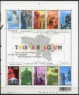 Blok 104** Postfris Met Zegels 3184/93** Historische Steden Bloc 104** Parcours à Travers Des Villes Historiques - Blocs 1962-....