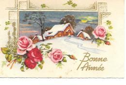MIGNONNETTE BONNE ANNEE FORMAT 7X11CM - Nouvel An