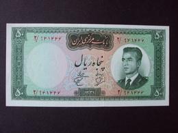 IRAN 50 RIALS  1962 UNC BANKNOTE - Iran