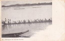 Indo-chine Laos Pirogue De Course éditeur Mottet Et Cie N°342 - Laos