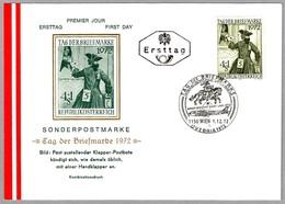 DIA DEL SELLO - DAY OF STAMP - TAG DER BRIEFMARKE. Wien 1972 - Día Del Sello