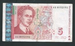 Bulgarie, 5 Leva, 1999,  AU8152192 - Laura4406 - Bulgaria
