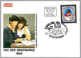 DIA DEL SELLO - DAY OF STAMP - TAG DER BRIEFMARKE. Wien 1983 - Día Del Sello