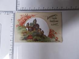 Chromo Decoupi Cacao Bensdorp's-vergeet Niet Den Achterkant Te Lezen ! Photo Recto/verso - Chocolate