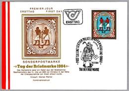 DIA DEL SELLO - DAY OF STAMP - TAG DER BRIEFMARKE. Linz,Donau 1984 - Día Del Sello