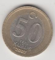 @Y@  Turkije    50  Yeni   Kurus   2007    (4739) - Turquie