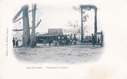 Indo-chine Laos Vientiane Procession De La Fusée éditeur Claude Et Cie - Laos