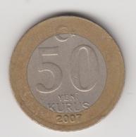 @Y@  Turkije    50  Yeni   Kurus   2007    (4738) - Turquie