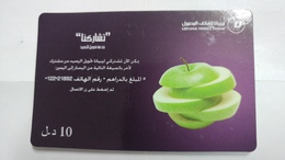Libya-prepiad Card-(24)-(10units)-(8815207513018)-used Card+1card Prepiad Free - Libia