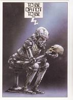 LACROIX  Ed Gentiane N°75 - Bande Dessinée Greenpeace  Robot Tete Intelligence Artificielle - CPM 10,5x15 TBE 1984 Neuve - Künstlerkarten