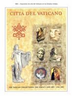 Vaticano. 1983. Mi 830 / 35 Block 6. Vatican Collection: The Papacy And Art - US Exhibition - Vatican