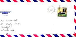 COOK. N°519 De 1979 Sur Enveloppe Ayant Circulé. Rowland Hill/Paquebot. - Rowland Hill
