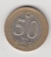 @Y@  Turkije    50  Yeni   Kurus   2006    (4736) - Turquie