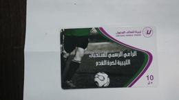 Libya-prepiad Card-(26)-(10units)-(1698159674409)-used Card+1card Prepiad Free - Libya