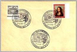 100 AÑOS DEL SELLO - 100 JARE BRIEFMARKE - 100 YEARS STAMP. Braunschweig 1952 - Sellos Sobre Sellos